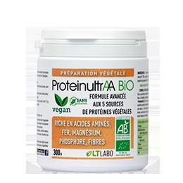proteines végatales ProteinultrAA Bio