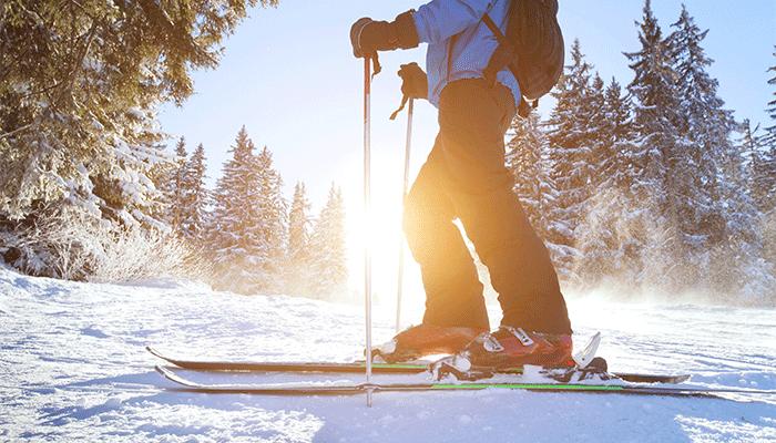 En route vers les sports d'hiver
